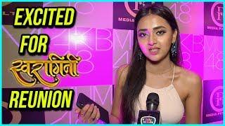 Tejasswi Prakash EXCITED To Meet Her SWARAGINI Team | EXCLUSIVE Interview
