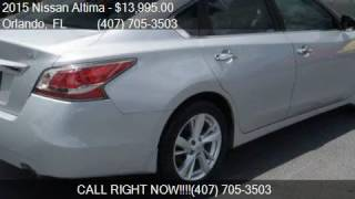 2015 Nissan Altima 4dr Sedan I4 2.5 SL for sale in Orlando,