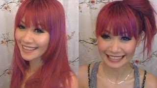 How To: Cut Blunt/Straight Bangs at Home