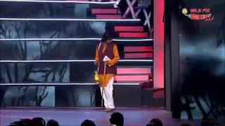 Comedian Sunil grover best performance at Mirchi music Awards