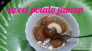 Sweet potato jamun/ sweet potato gulab jamun/ sakkara valli kizhangu jamun/women's day special