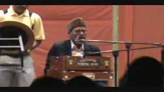 Manna Dey (90 years old) Live (Orlando Durga Puja, 2009): Part 1