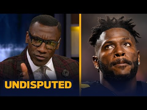 Shannon Sharpe does not see a happy end for Antonio Brown and the Steelers NFL UNDISPUTED