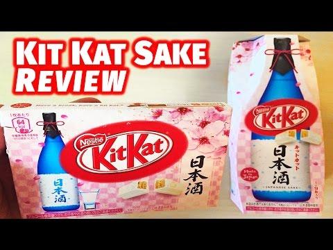 Sake Kit Kat Review Japan Exclusive