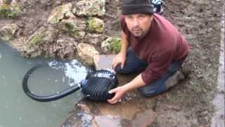 How to Build a Fish Pond and Stream / Cascade - Complete pond building video by Pondguru
