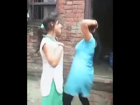 Hot Dance By Indian Village Girls