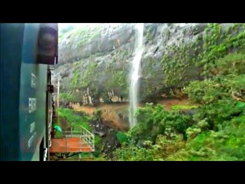 Indian railway's Monsoon Bor ghat journey :Three EMD hauled passenger train