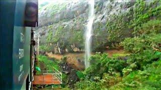 Indian railway's Monsoon Bor ghat journey :Three EMD hauled passenger train