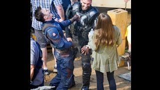 Hollywood Movies : Behind The Scenes Captain America 3 Spoilers | I Watched Captain America 2