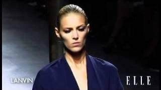 Lanvin. Paris Fashion Week primavera verano 2011