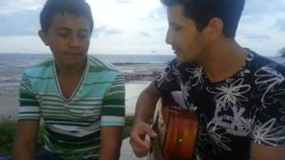 RUAN VICTOR E RAFAEL - Os Amantes (DANIEL) - Acústico na praia!