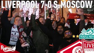 Liverpool v Spartak Moscow 7-0 | #LFC Free For All Fan Cam