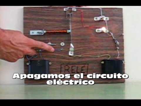 El relé circuito eléctrico ; 3º trabajo de informática tema edición de video.