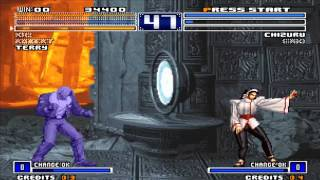Tips vs Bosses Terry vs Chizuru Maki KOF 2003