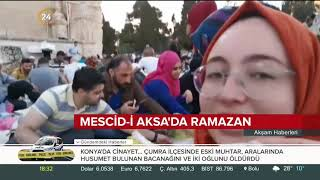 Mescid-i Aksa'da Ramazan