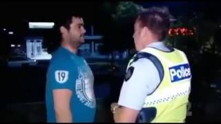 I'm just waiting for a mate - FUNNY POLICE ARREST