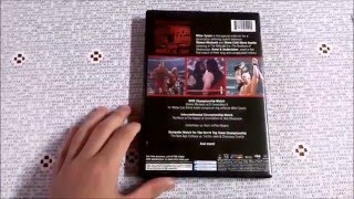 Review/Unboxing WWE Shop DVD WWE WrestleMania 14 PT/BR