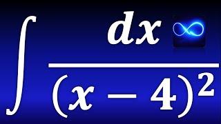 Integral de dx entre un binomio al cuadrado (exponente negativo, fórmula v^n)