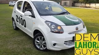 Zotye Z100 Hatchback 1.0L Chinese car: Test Drive | Specs and features | Urdu