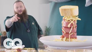Action Bronson Makes the Ultimate Stoner Sandwich for 420 | GQ