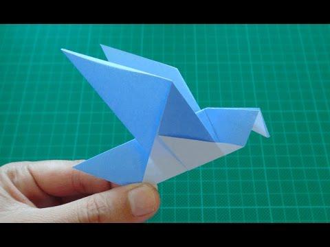 origami for kids【Bird/Pigeon】