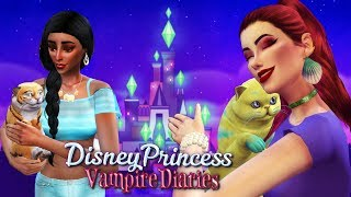 Princesses Pets | Sims 4 Disney Princess Vampire Diaries Ep 15