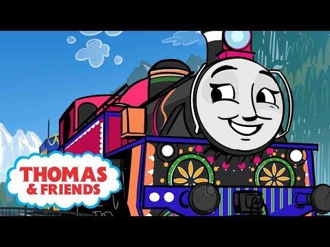 Xxx Mp4 Ashima Helps Rajiv Great Race Friends Near Far Thomas Friends UK Cartoons For Kids 3gp Sex