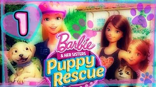 Barbie and Her Sisters: Puppy Rescue Walkthrough Part 1 (PS3, Wii, X360, WiiU) Full Gameplay