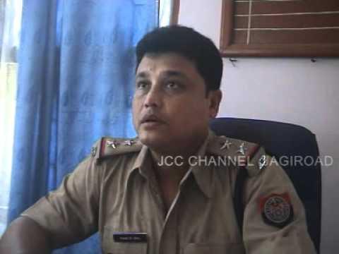 Pranab Kumar Deka (officer-in-charge of Sonapur Police Station,Jugdol-Sonapur )