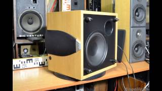 JAMO E 8SUB Active Subwoofer and Bowers & Wilkins DM303 Loudspeakers