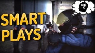 CS:GO - Smartest Plays ft. Snax, Olof, Pasha & more!