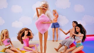Wstydliwy wypadek Barbie i morning routine - Bajka po polsku lalka Barbie