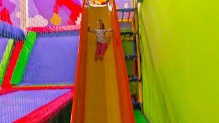 Indoor Playground for Kids! Children Play Center
