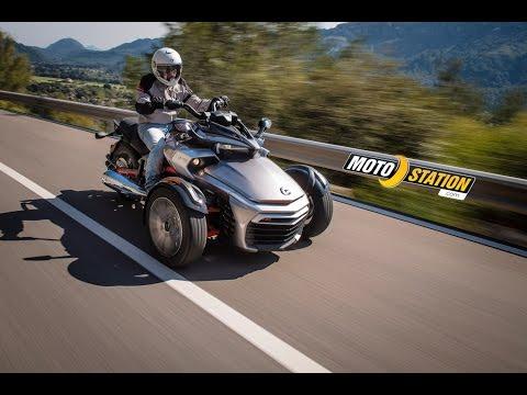 Essai Can Am Spyder F3S 2015 115 ch et un châssis affûté