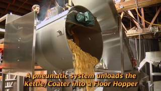 Air Popping with Automated Batch Caramel Coating
