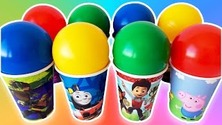 Colors Balls Surprise Eggs Toys Disney Cars Paw Patrol Learn Colors for Kids, Toddlers and Children