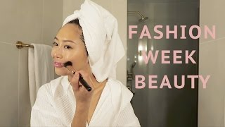 Easy Fashion Week Beauty Routine   Song of Style