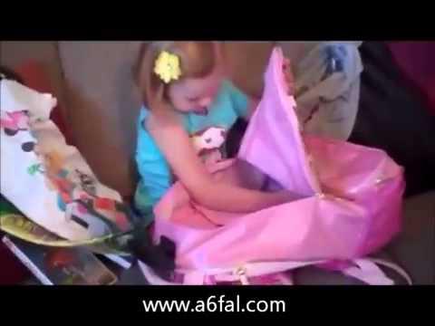 رد فعل طفلة في Ù...فاجأة Ø£Ù...ها لها في عيد Ù...يلادها