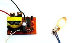 Make an inverter - 12V to  220V (part 1)