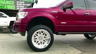 2014 FORD F150 On 22x12 American Force Wheels 6