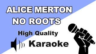 🔴🎤 Alice Merton - No Roots | Instrumental/Karaoke Universe HD🎤🔴