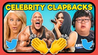 YouTubers React To Celebrity Clapbacks #2
