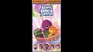 Opening & Closing To Barney's Big Surprise 1998 VHS