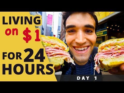 Xxx Mp4 LIVING On 1 For 24 HOURS In NYC Day 1 3gp Sex