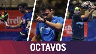Resumen Jornada de Mañana Octavos de final Estrella Damm Catalunya Master 2018