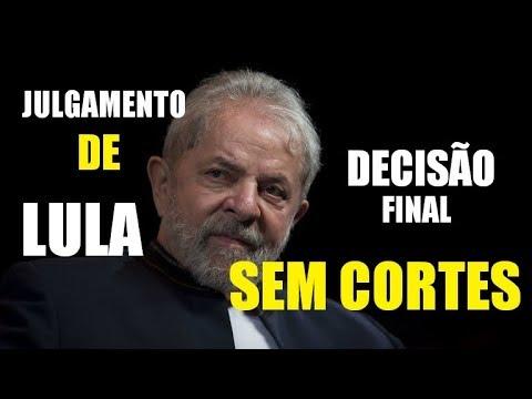 Julgamento de Lula da 8ª Turma do TRF4 na apelação criminal 5046512 94 2016 4 04 7000   24 01 18