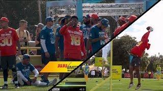 JuJu Wins the Pro Bowl Skill Challenge!