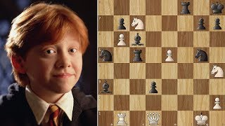 Ron Weasley Sacrifices Himself for the Team
