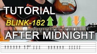 Como tocar After Midnight de blink 182 en guitarra - Tutorial - FermiGuitarra
