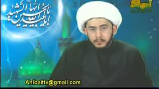 الشيخ حسن الله ياري يفحم عالم عمري يحاول الخداع